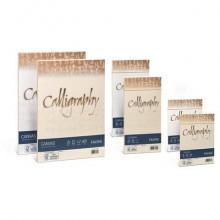 Carta canvas FAVINI Calligraphy per lettere ruvido su entrambi i lati 100 g/m² A4 bianco 01  50 fogli - A690214
