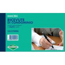 Blocco ricevute di condominio Flex 10x16,8 cm - 50x2 copie autoricalcanti 161370000