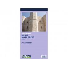 Buste-Nota spese da rimborsare Data Ufficio - 25 buste staccabili con voci prestampate - 28x15 cm DU185000000