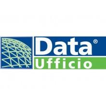Registro corrispondenza arrivo/partenza data ufficio 100 pg - 31x24,5 cm DU13800000