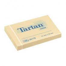 Foglietti riposizionabili Tartan™ 100 ff 63 g/m² giallo 51x76mm conf. da 12 blocchetti - 656 Yellow