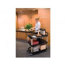 Carrello aperto X-tra™ Utility Cart Rubbermaid 103.2 x 50.8 x 96 cm nero 1814566