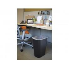 Contenitore in resina Wastebasket 38.8 L Rubbermaid nero FG295700BLA