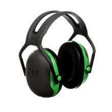 Cuffie auricolari 3M nero/verde  X1A