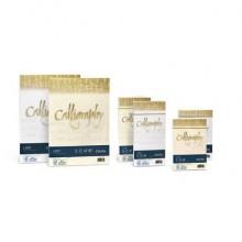 Carta lino FAVINI Calligraphy per lettere per stampa inkjet e laser 120 g/m² A4 avorio 02  50 fogli - A69Q514