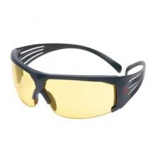 Occhiali di protezione 3M lenti gialle in PC SF603SGAF-EU