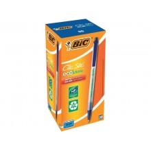 Penna ecologica a scatto BIC ECOlutions Clic Stic 1 mm blu 8806891 (Conf.50)