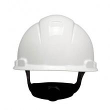 Elmetto di protezione non ventilato 3M bianco H-701N-VI
