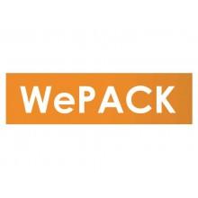 Buste portadocumenti per spedizioni WE PACK Letterbox Trasparente conf. 500 pezzi - A-760/N500