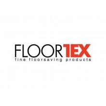 Tappeto protettivo a U Floortex CLEARTEX® ValuMat™ 120x130 cm- pavimenti duri - trasparente FC1213017LV