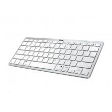 Tastiera Wireless Nado Bluetooth TRUST Argento e bianco 22246