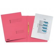 Cartelline ad aghi Esselte Rapid File 29,5x32 cm rosso 621056 (Conf. 25)