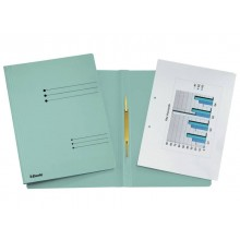 Cartelline ad aghi Esselte Rapid File 29,5x32 cm azzurro 621057 (Conf. 25)
