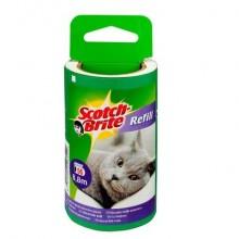 Spazzola adesiva Scotch-Brite® ricambio n/a 56 fogli - 838RP-56-EU