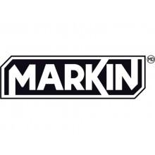 """Adesivo segnaletico Markin """"Disinfettare le mani con il gel"""" in LWM - 12,5x15,2 cm - Conf. 2 pezzi - X110COV-5"""