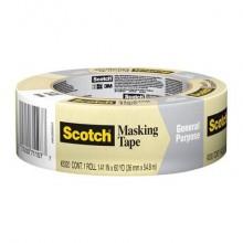 Nastro in carta per mascheratura 3M Scotch® bianco 30 mm x 50 m 2120E 30X50