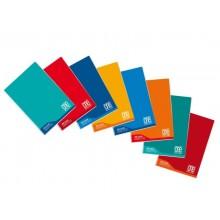 Quaderno Maxi One Color 100 Gr Didattico A4 - quadretti 0Q - colori assortiti - 18+1 fogli - 7045