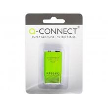 Batteria alcalina Q-Connect 9V  KF00492