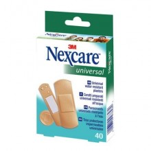 "Cerotti Nexcare™ ""Universal"" assortiti 3 misure assortiti conf. 40 cerotti - N0340AS"