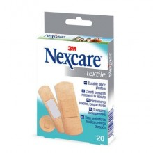 Cerotti Nexcare Textile assortiti Conf. 20 pezzi - N0420AS