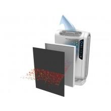 Purificatore d'aria Fellowes AeraMax DX55 - per ambienti fino a 20 mq grigio - 9393501