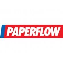 Portadocumenti e riviste a muro Paperflow 6 scomparti A4 23,6x8,3x71,2 cm grigio chiaro - K500004