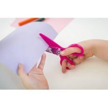 Forbici per bambini 100% in plastica - Dahle rosa con cavallo R054675