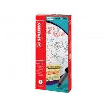 Penna roller a scatto Stabilo Palette tratto F 0,4 mm blu 268/41-01