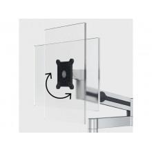 """Braccio porta monitor per 1 schermo max 27"""" DURABLE argento metallizzato 345x470x120 mm - 5083-23"""