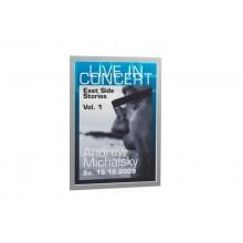 Cornice espositiva adesiva DURABLE DURAFRAME® A3 - argento Conf. 6 pezzi -4883-23