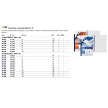 Portalistini in PP Sei Rota Uno TI - PP buccia - 12 buste A4 blu 55221207