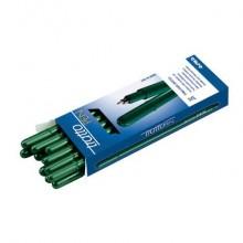 Penna a punta sintetica TRATTO Pen 2 mm verde 830704 (Conf.12)