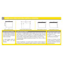 Cartelle sospese orizzontali per cassetti AVANA 33 cm fondo U 3 cm avana Conf. 50 pezzi - 060/330 Beta 3 -B1