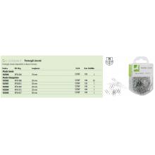 Fermagli zincati Q-Connect acciaio 26 mm  Scatola da 125 pezzi - KF02021