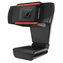 Webcam Mediacom M350 HD 720P nero - risoluzione 1280x720 px - M-WEA350