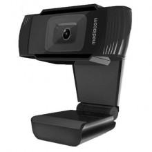 EC - Webcam Mediacom M450 Full HD nero - risoluzione 1920x1080 px - M-WEA450