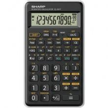 Calcolatrice scientifica Sharp EL-501T con 146 funzioni e ampio display 10+2 cifre bianca - EL501TBWH