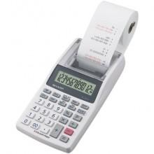 Calcolatrice scrivente mobile 12 cifre Sharp EL-1611V 2 colori di stampa doppia alimentazione grigia - SH-EL1611V