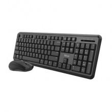 Set tastiera e mouse wireless TKM-350 Trust nero 24009