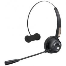 Cuffia mono auricolare per PC Media Range wireless con microfono - batteria 180mAh - nero - MROS305