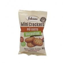 Mini cracker più gusto Falcone 30 gr - Linea gluten free/vegan e senza lattosio  - conf. 30 pezzi - MCPG91
