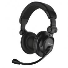 Cuffie over-ear per PC con microfono Trust Como - cavo 2,5 m - nero 21658