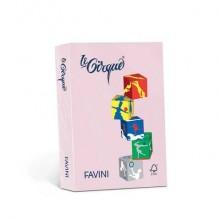 Carta colorata Favini Le Cirque A3 80 g/m² colori tenuti  Rosa 108 - risma da 500 fogli - A71S353