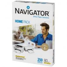 Carta per fotocopie Navigator Home Pack 80gr/mq A4 - Risma da 250 fogli - NHP0800044