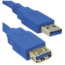 Cavo di prolunga Media Range USB 3.0 AM/AF 3m blu MRCS145