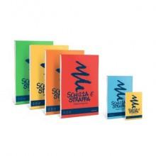 Album da disegno Favini SCHIZZA&STRAPPA in carta naturale liscia 50 g/m² 10,5x14,8cm (A6) -150fg - A200706