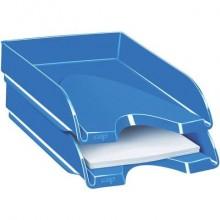 Vaschetta portacorrispondenza CepPro Gloss CEP in polistirene impilabile blu oceano 25,7x24,8x6,6 cm - 1002000351 (Conf.10)