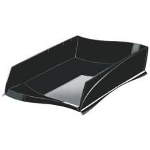 Vaschetta portacorrispondenza Ellypse CEP in polistirolo capacità fino a 500 fogli nero - 1003000161