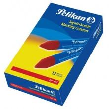 Pastello industriale Pelikan 762 rosso  conf. da 12 - 701029