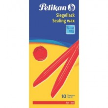 Ceralacca rossa Pelikan 60/10 per pacchi  Conf. 10 pezzi - 361220